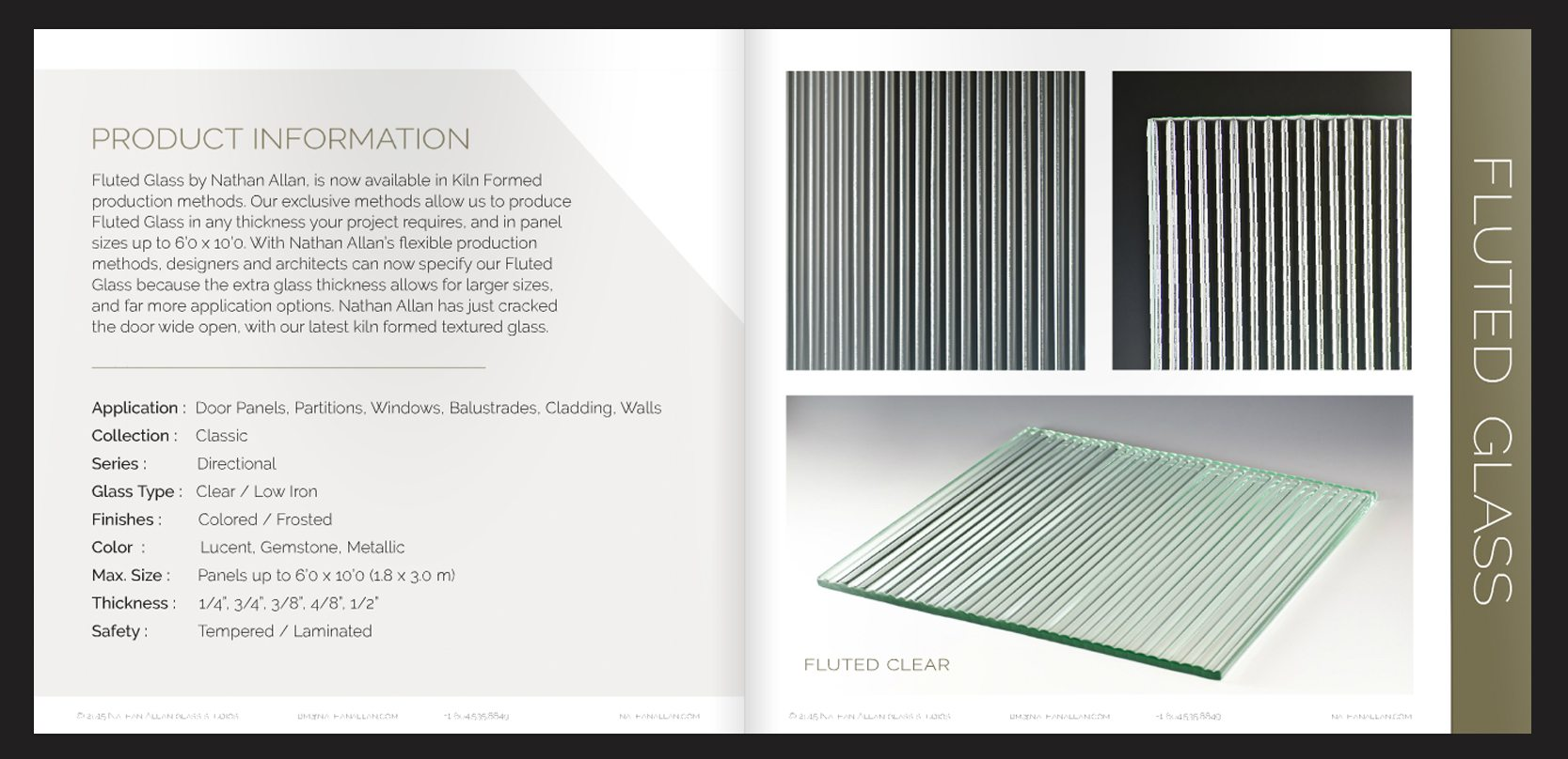 Introducing Fluted Glass