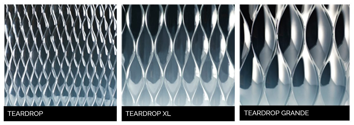 teardrop glass | architectural decorative