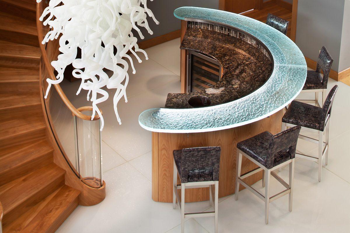 glasstop countertops