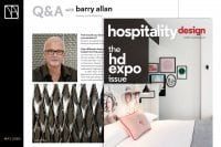 Barry Allan Hospitality Design Magazine