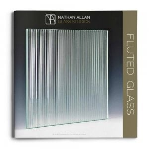 Fluted Glass Architectural Glass Decorative