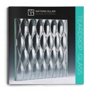 Teardrop Glass Architectural Glass Decorative
