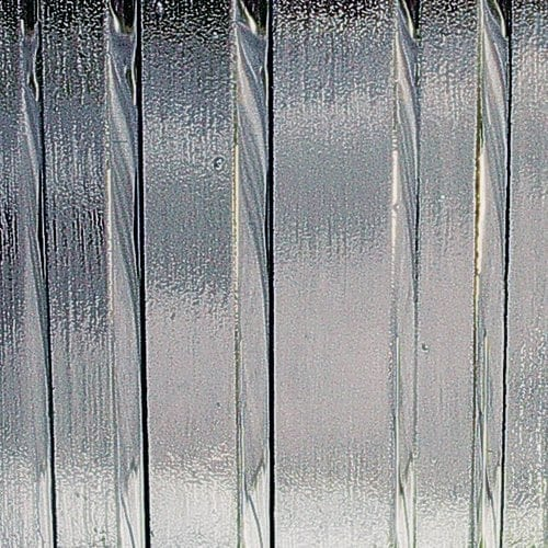 Icicle Rain Textured Glass