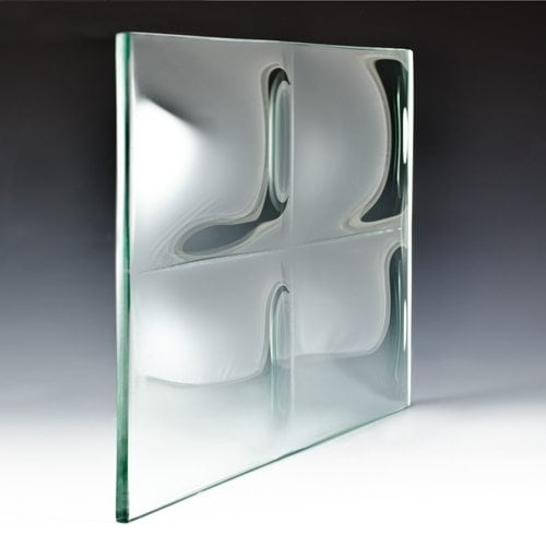 3D Convex Square Architectural Glass