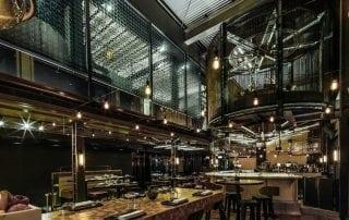 decorative glass panels transform Isono and Vasco Restaurant