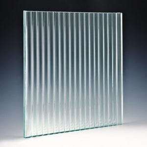 Channel Textured Glass