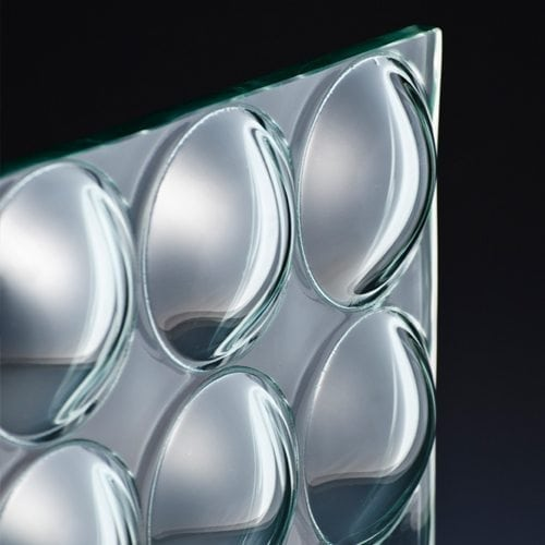 3D Convex Circle Architectural Glass