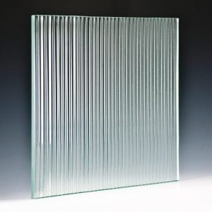 Fluted Textured Glass