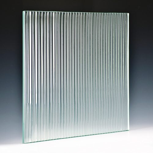 Fluted Architectural Cast Glass Is A Great Solution For