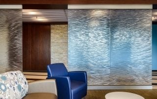 Mother Mercy Mirage Architectural Glass Wall