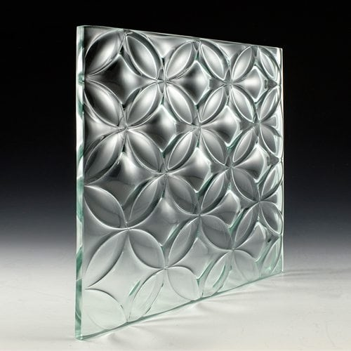 3D Convex Nexus Architectural Glass