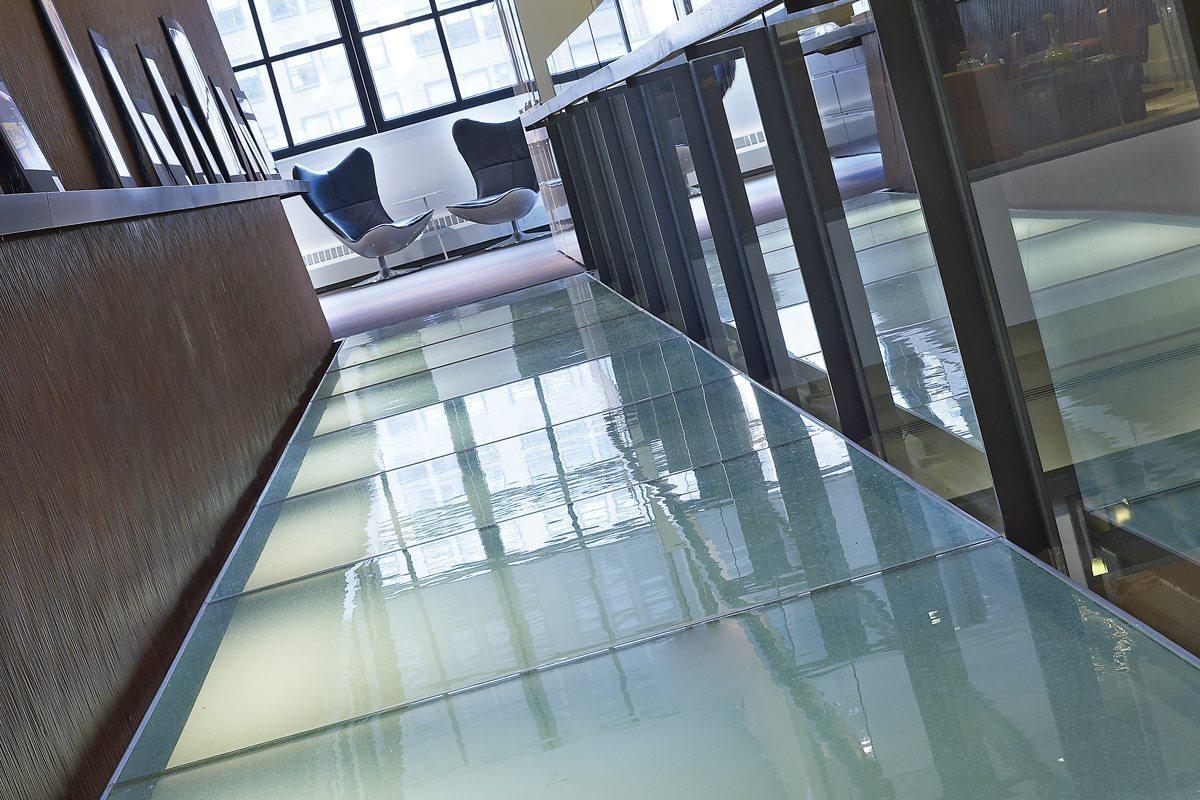 Glass Stairs/Flooring