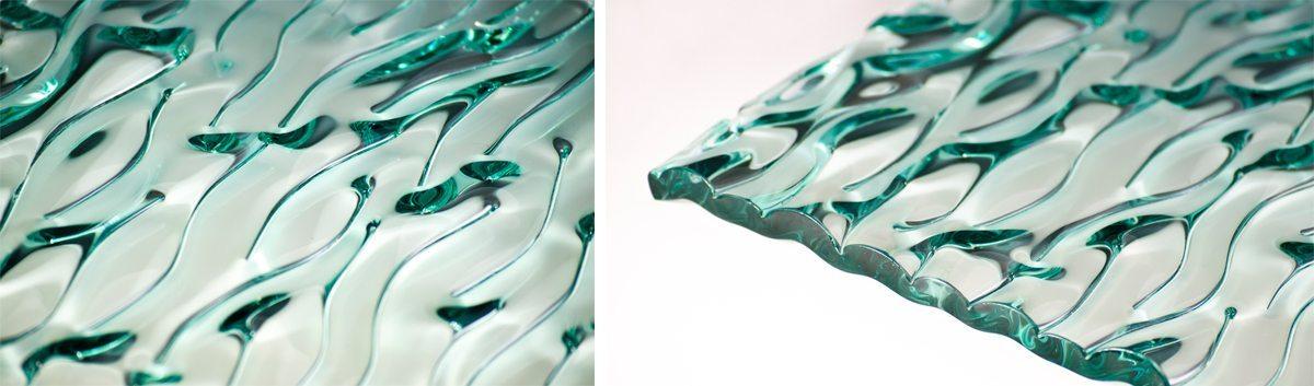 Ripple Decorative Glass