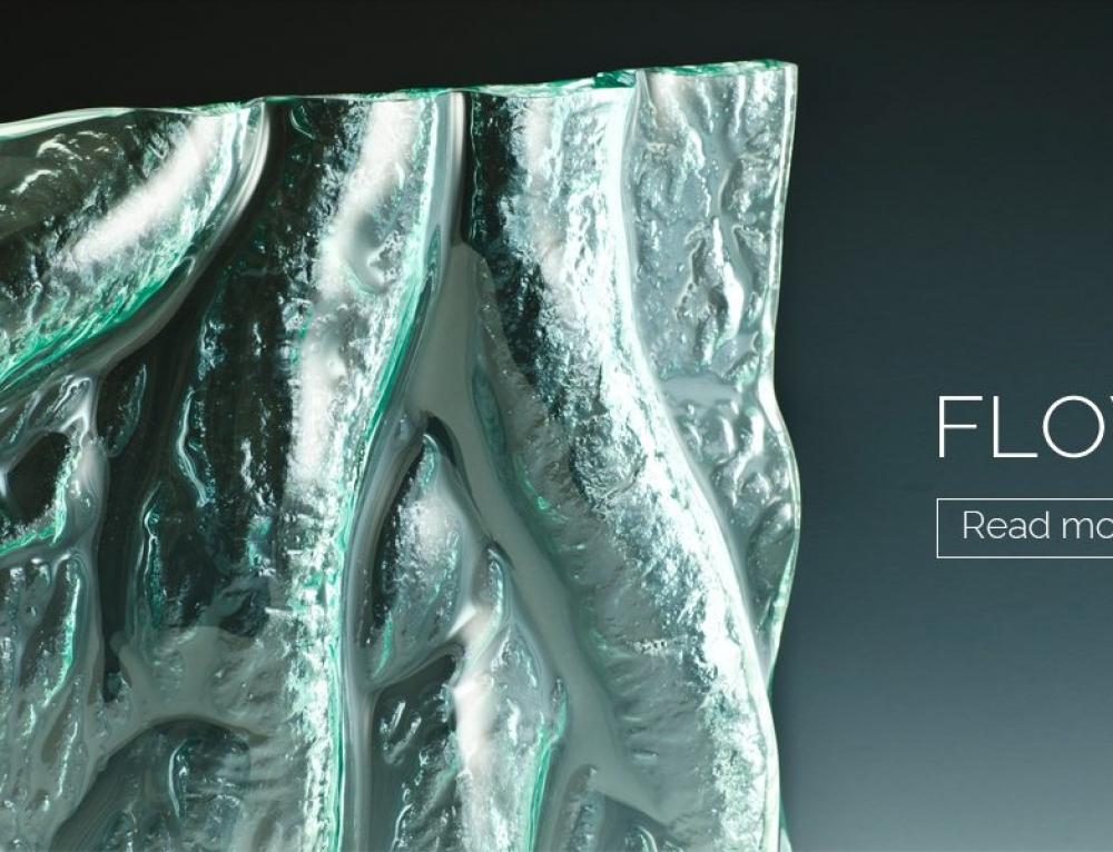 Flow in Kiln Formed Glass