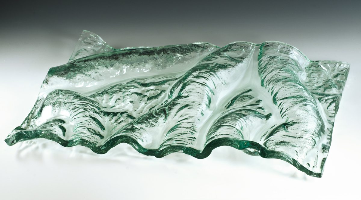 flow in kiln formed glass