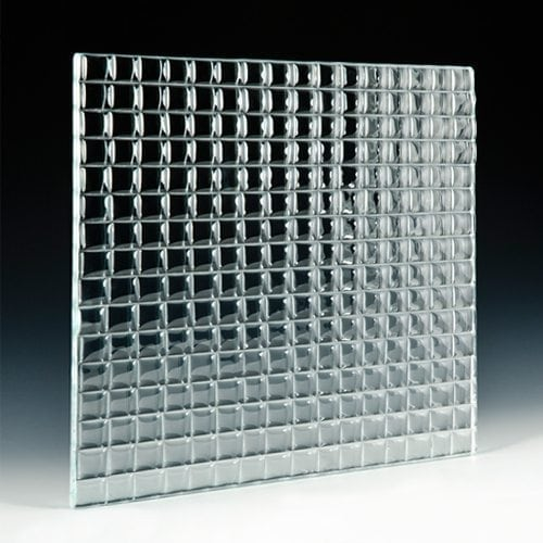 "Convex Square 1"" Architectural Glass"