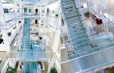 Stair Treads Glass Decorative