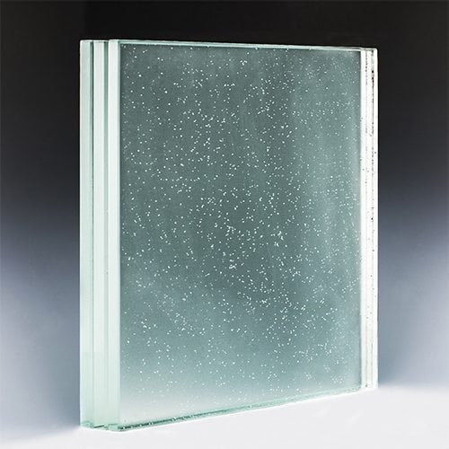 Low Iron Opacity Glass Stair Treads