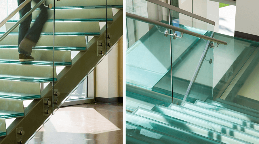 Glass Stair Treads Are The Most Unique Products In Today S