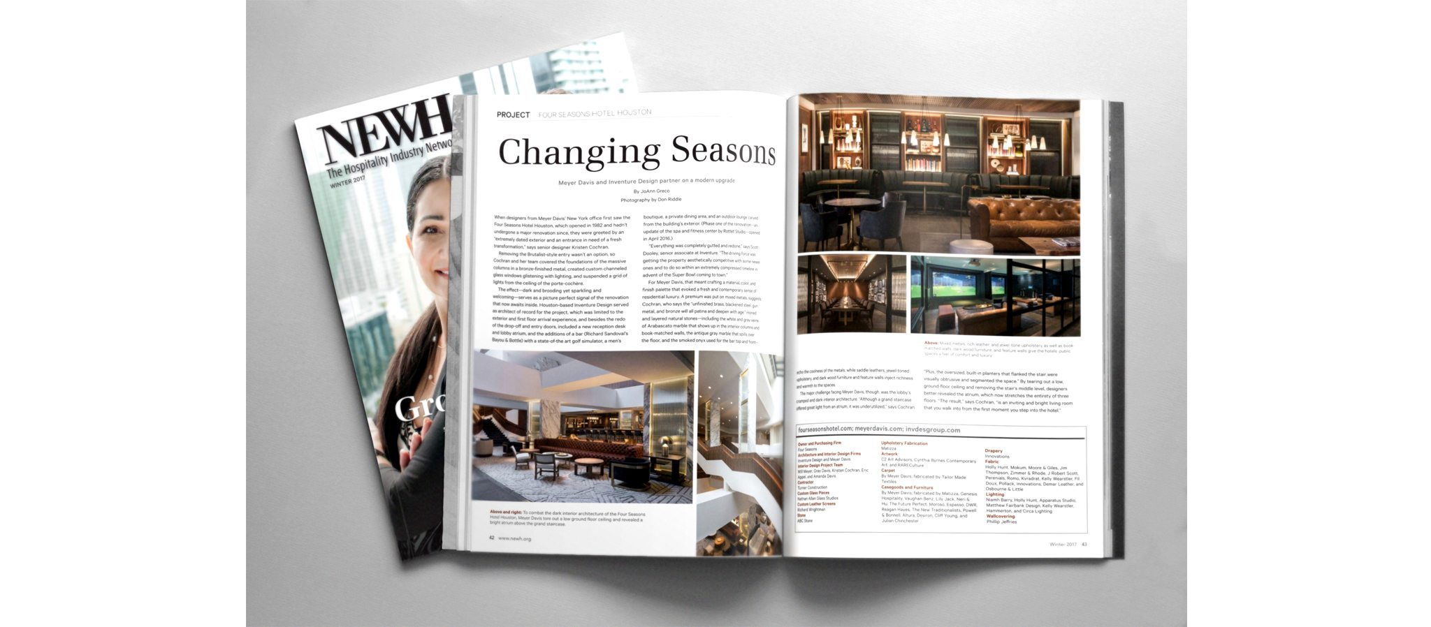 NEWH Magazine Cathedral Glass The Four Seasons Hotel