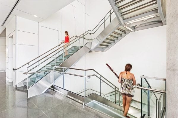 Los Angeles Glass Stair Treads