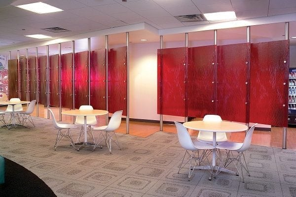 Surrey Cast Glass Walls