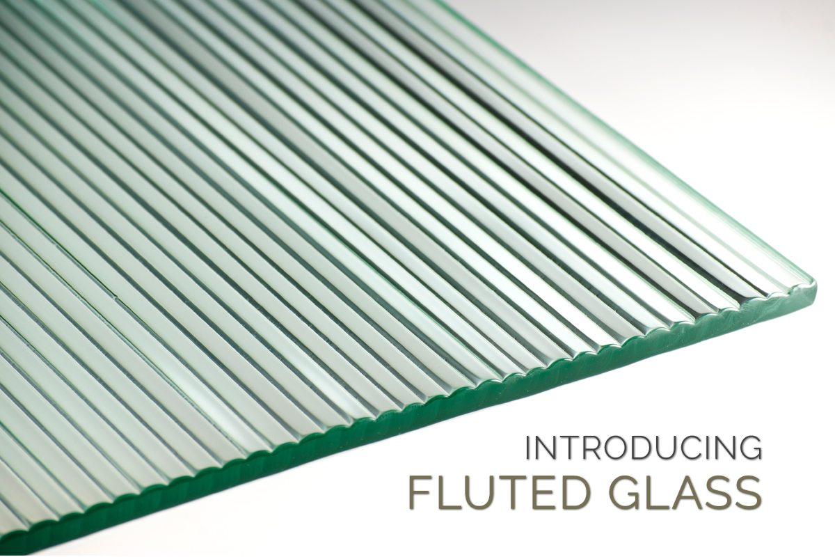 introducing fluted glass custom glass products by nathan allan glass