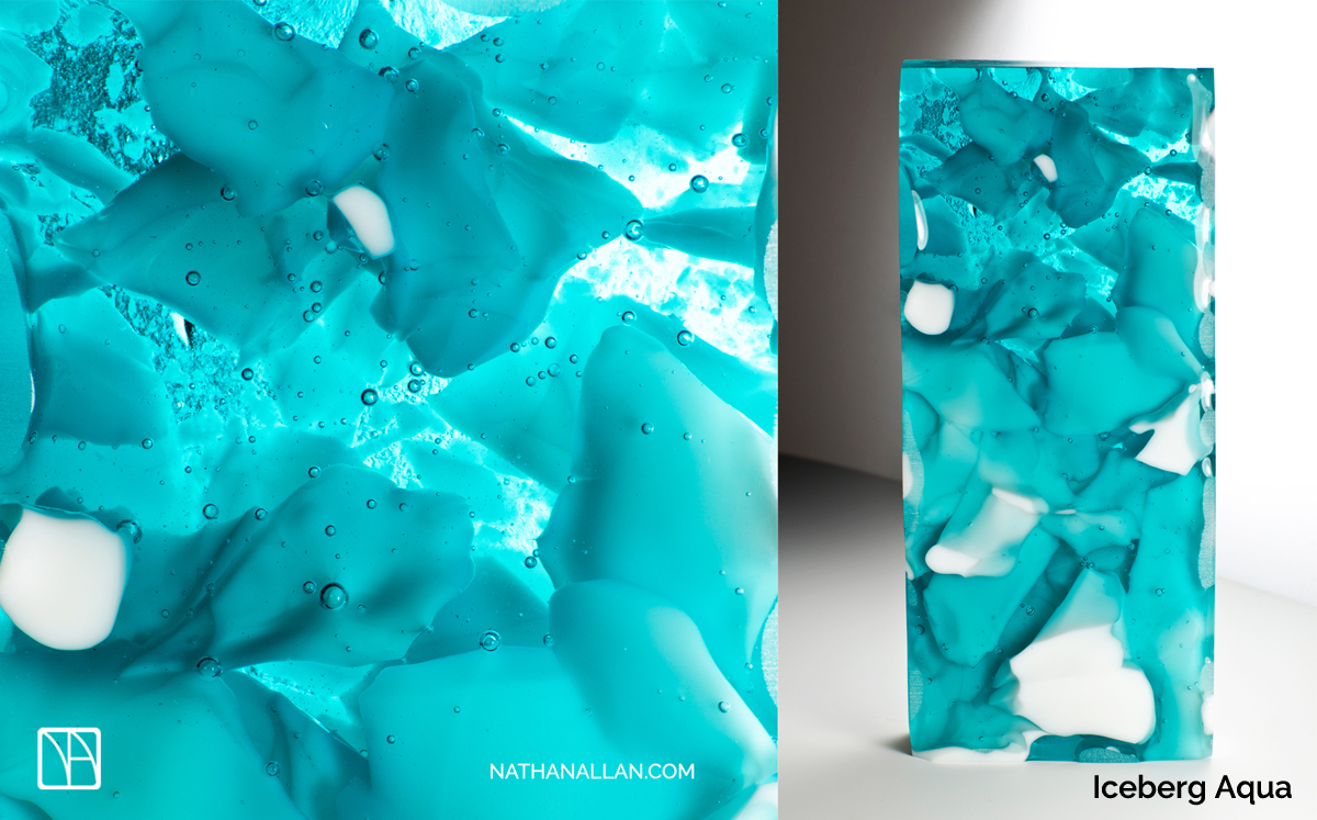 Iceberg Decorative Glass