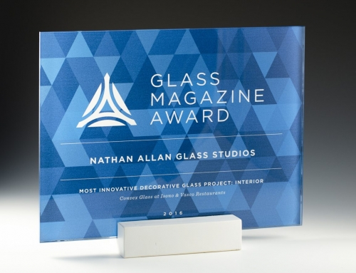 2016 Glass Magazine Award Winners