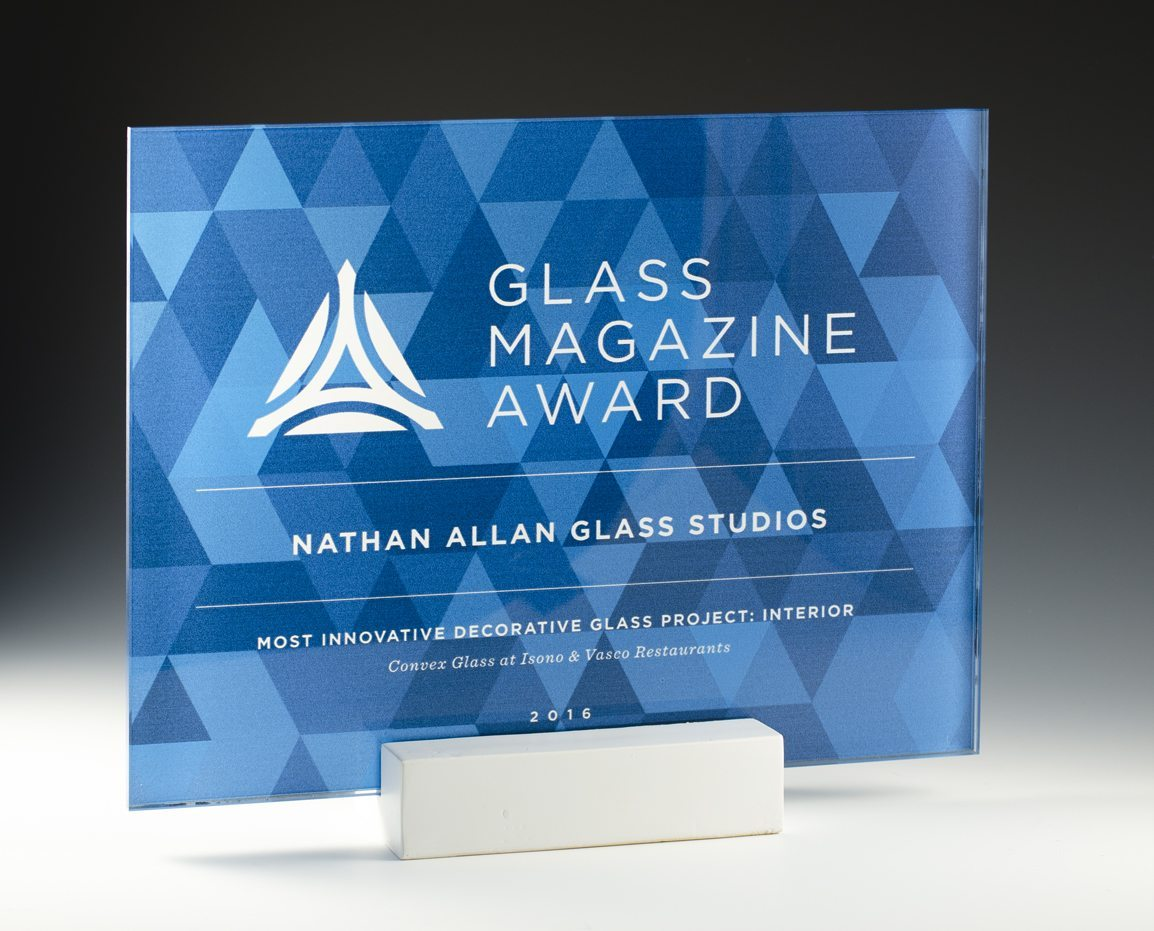 Glass Magazine Convex Glass Product Awards