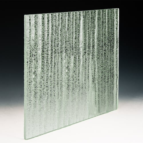 Crystal Clear Textured Glass