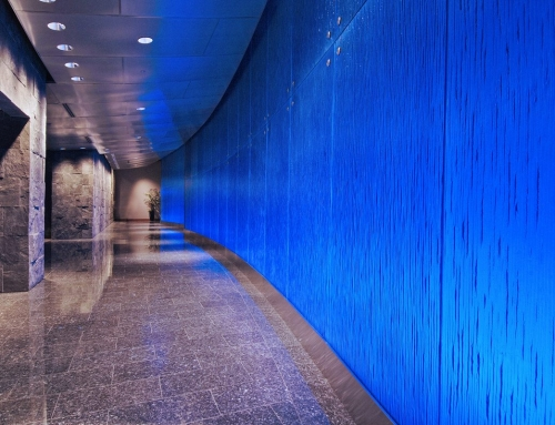 Hayden Ferry Textured Glass Walls