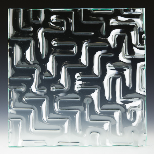 Maze Architectural Cast Glass