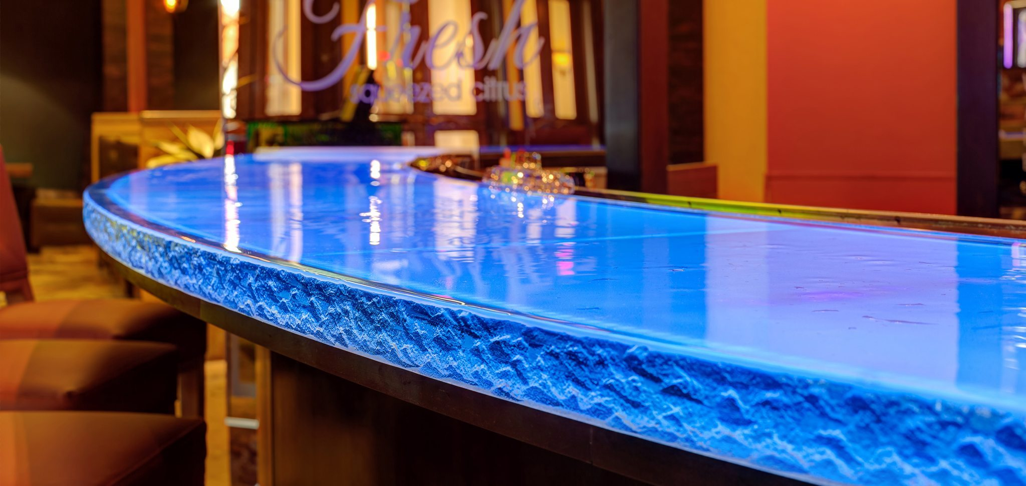 Glass Bartop