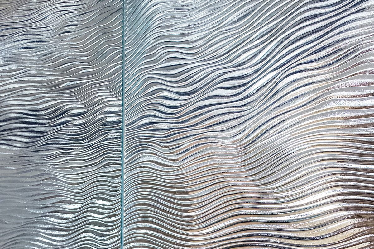 mirage textured glass by nathan allan glass studios