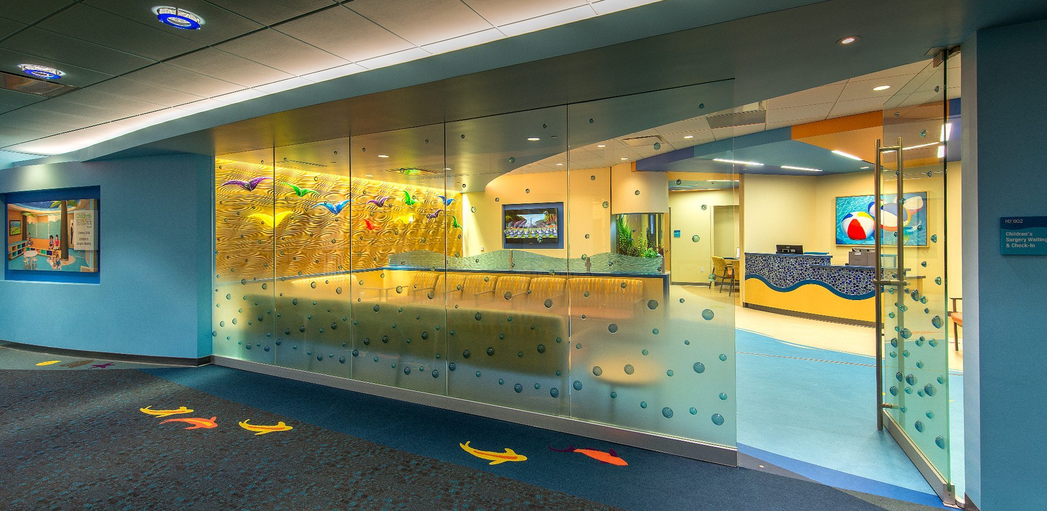Sphere Glass partitions and doors by Nathan Allan Glass Studios
