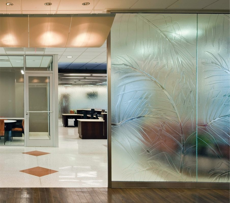 Leon Medical Center Glass Partition
