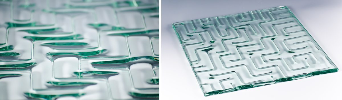 Maze Kiln Formed Glass