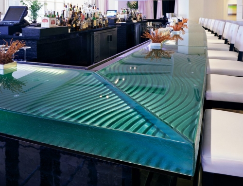 Naples Glass Bar Top