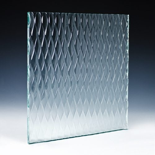 Teardrop Architectural Cast Glass