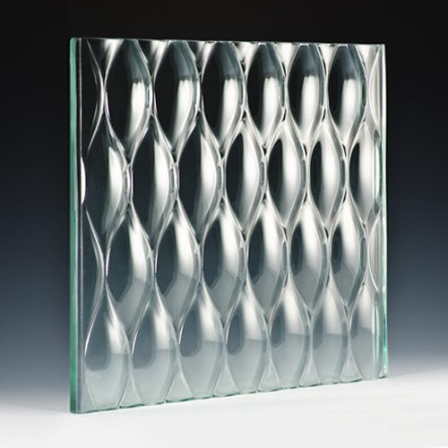 Teardrop XL Architectural Cast Glass