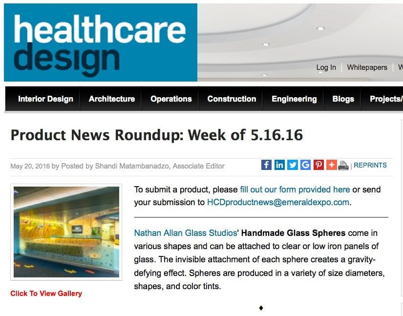 Healthcare Design Magazine