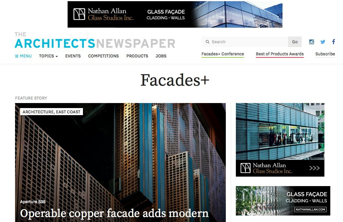 Architect's Newspaper Facade Plus