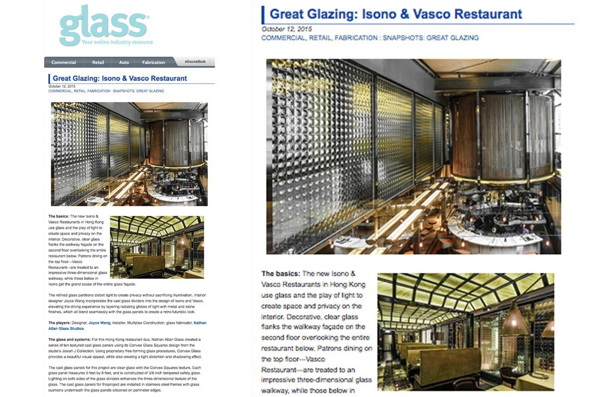 Glass Magazine Convex Glass