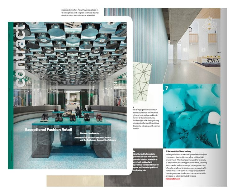 Contract Magazine Iceberg Glass