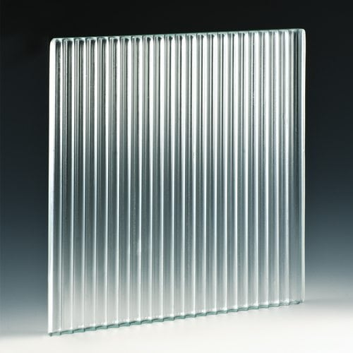Furrow Textured Glass