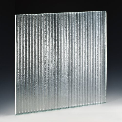Sawtooth Mini Textured Glass Designed And Made By Nathan