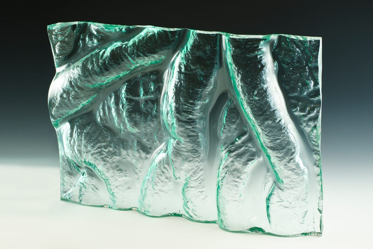 Flow Kiln Formed Glass