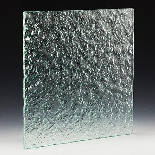 Aggregate Textured Glass