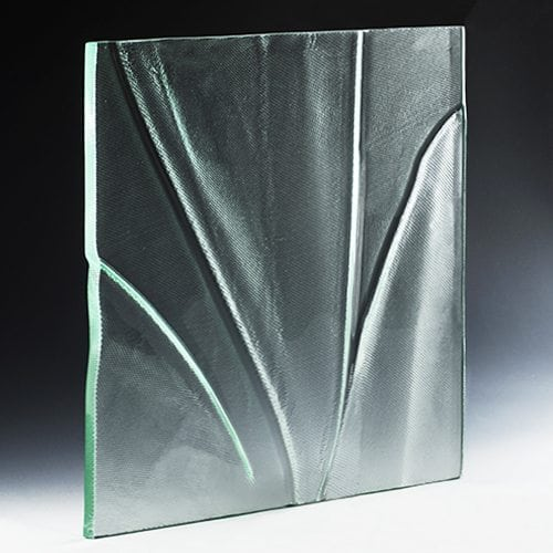 Ruche Textured Glass
